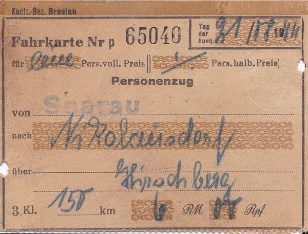 fahrkarte1944saarau