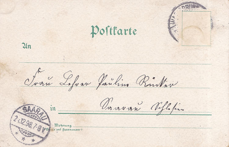 Pocztówka świąteczna Inicjatywa B (1b)