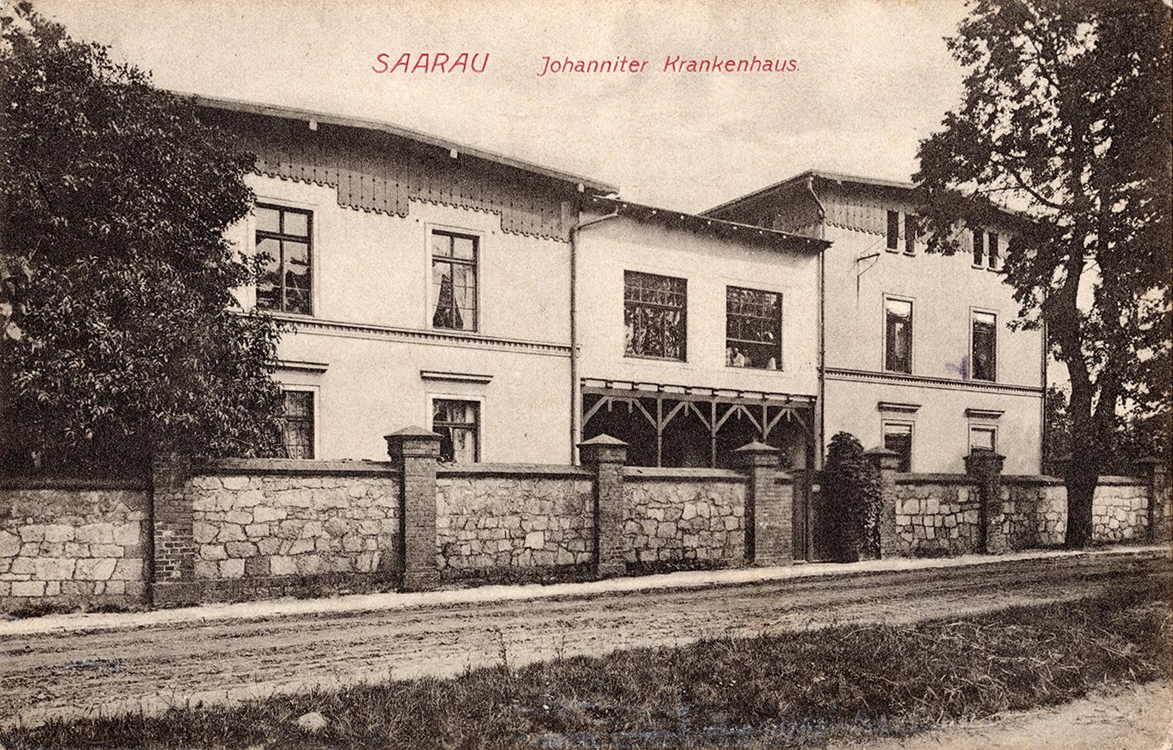 Saarau Johanniter Krakenhaus 1916 (1)