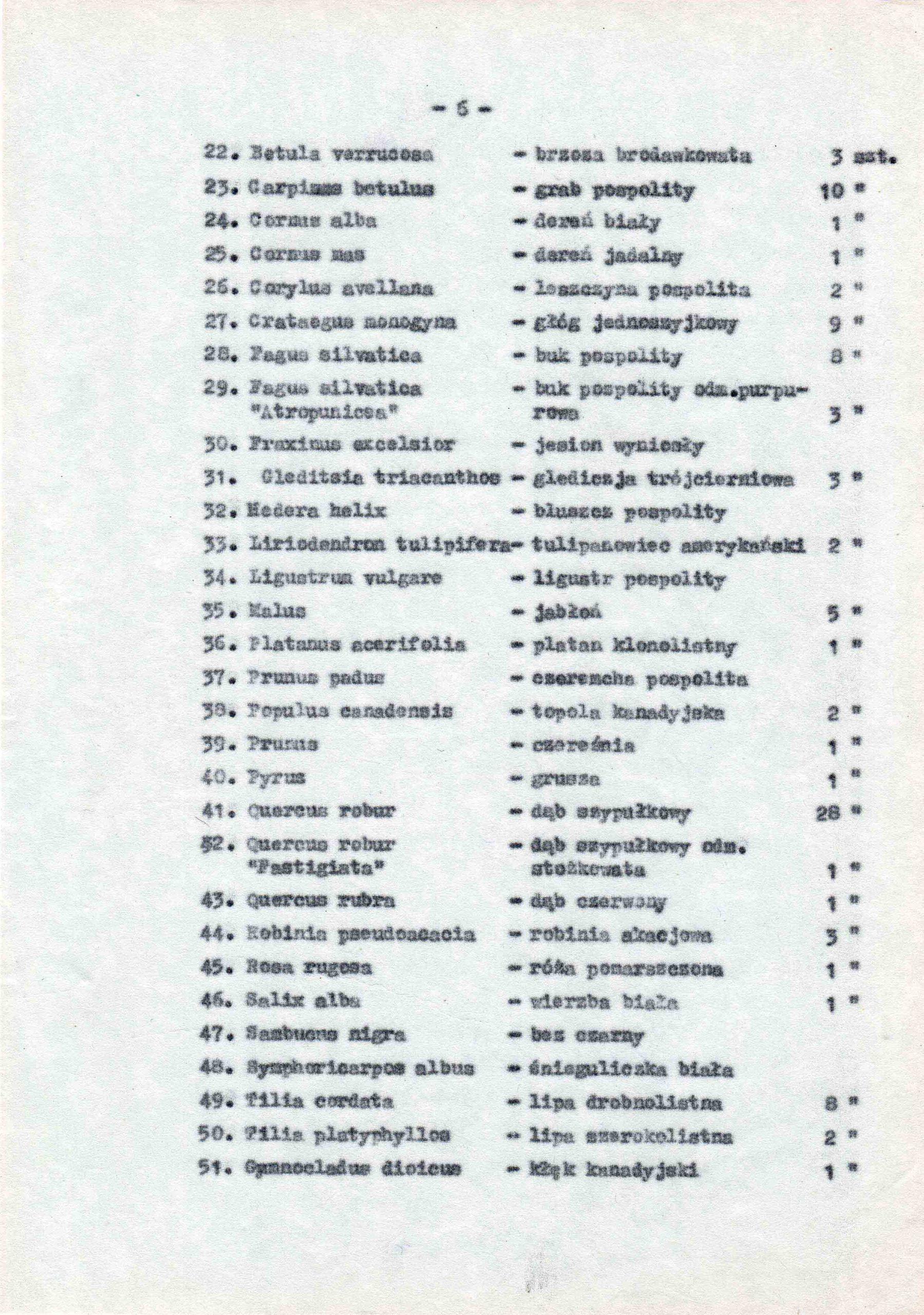 Ewidencja założenia ogrodowo-parkowego 1987 dokument (10)
