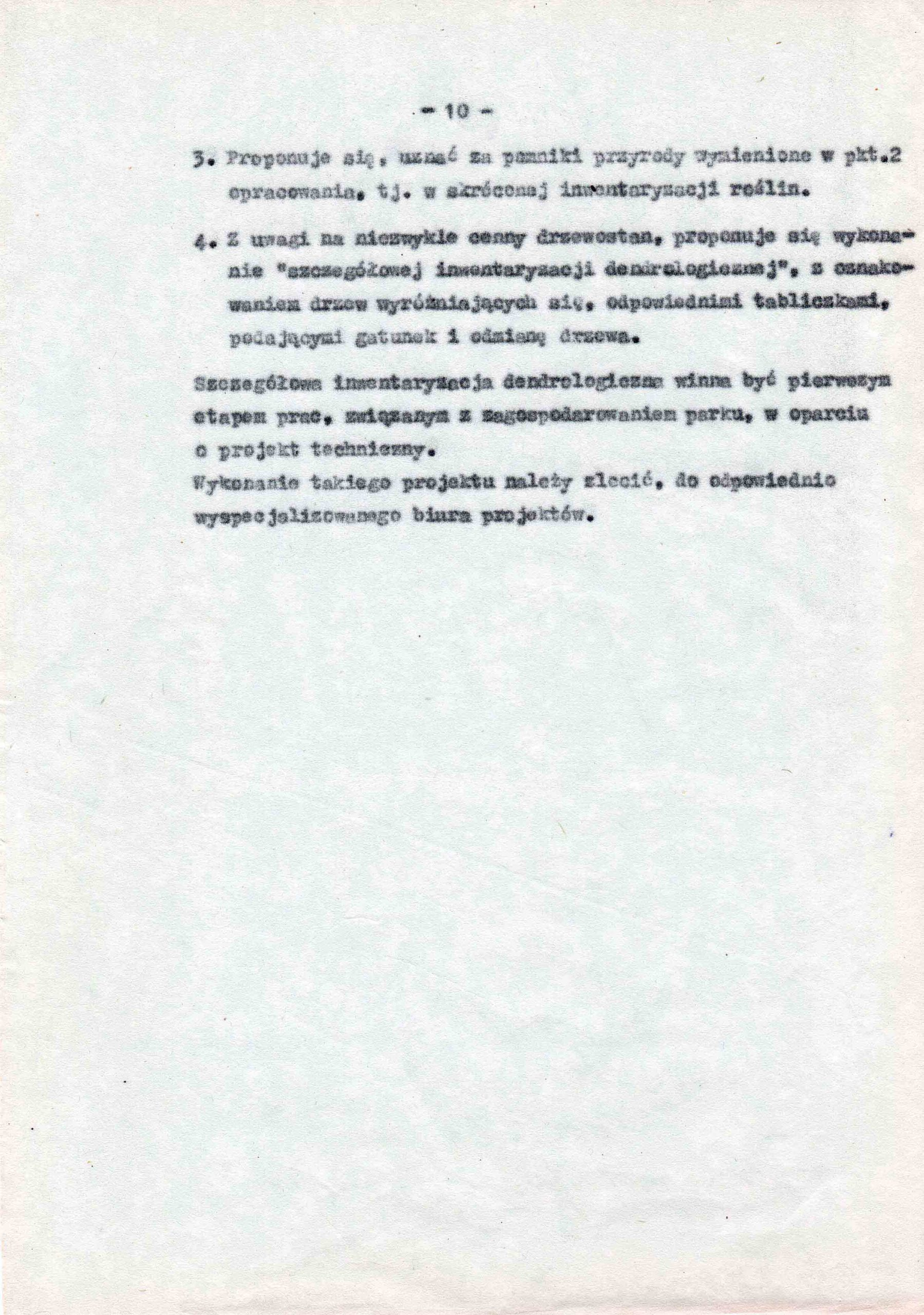 Ewidencja założenia ogrodowo-parkowego 1987 dokument (14)