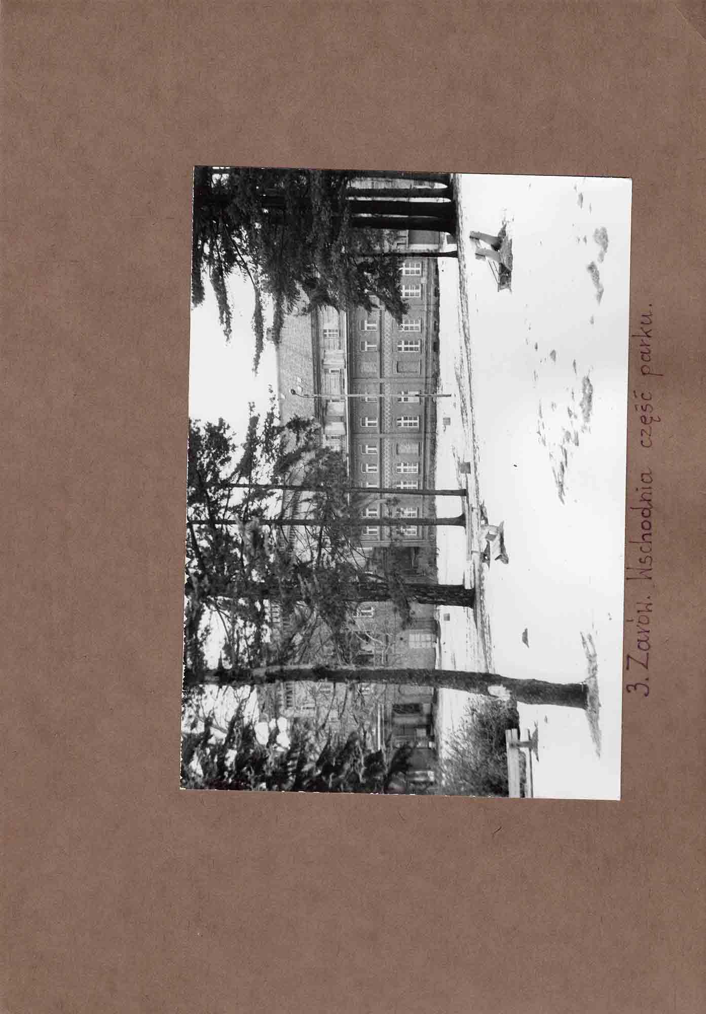 Ewidencja założenia ogrodowo-parkowego 1987 dokument (17)