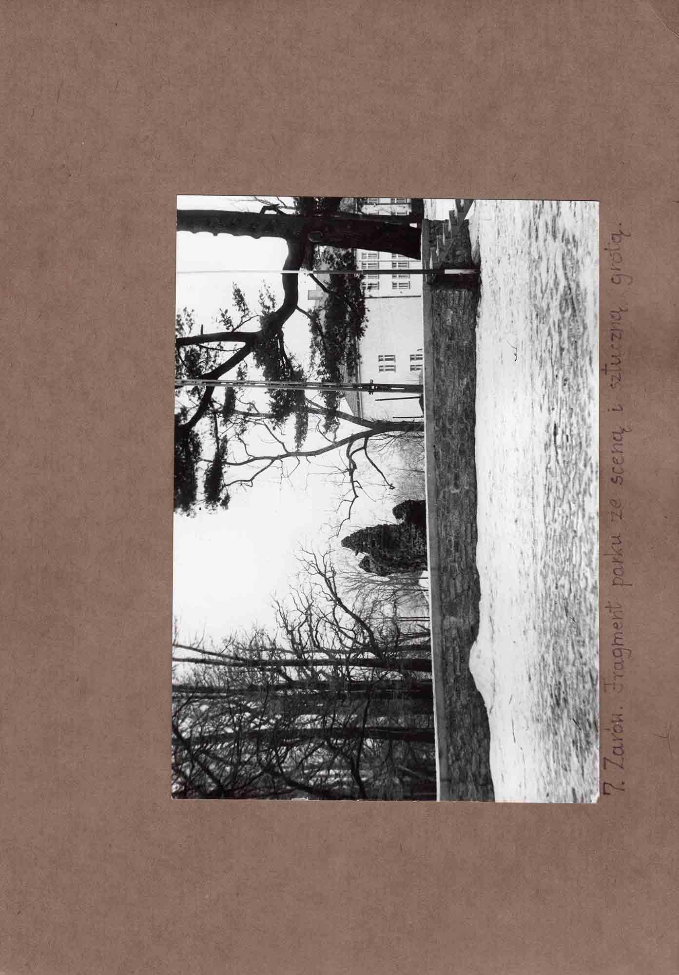Ewidencja założenia ogrodowo-parkowego 1987 dokument (21)