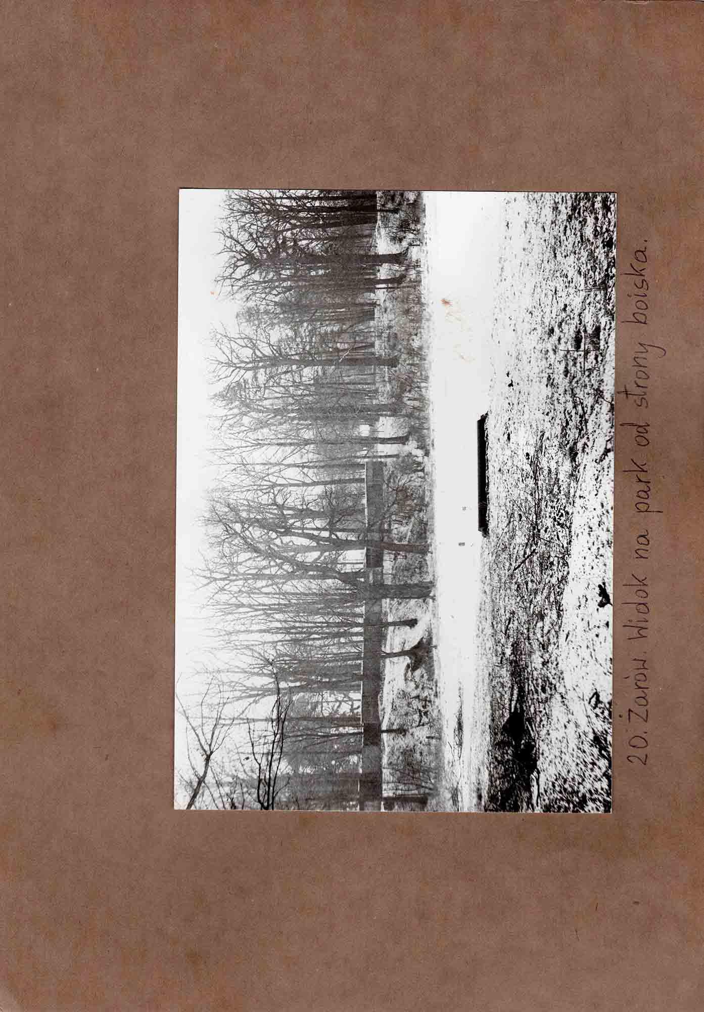 Ewidencja założenia ogrodowo-parkowego 1987 dokument (34)