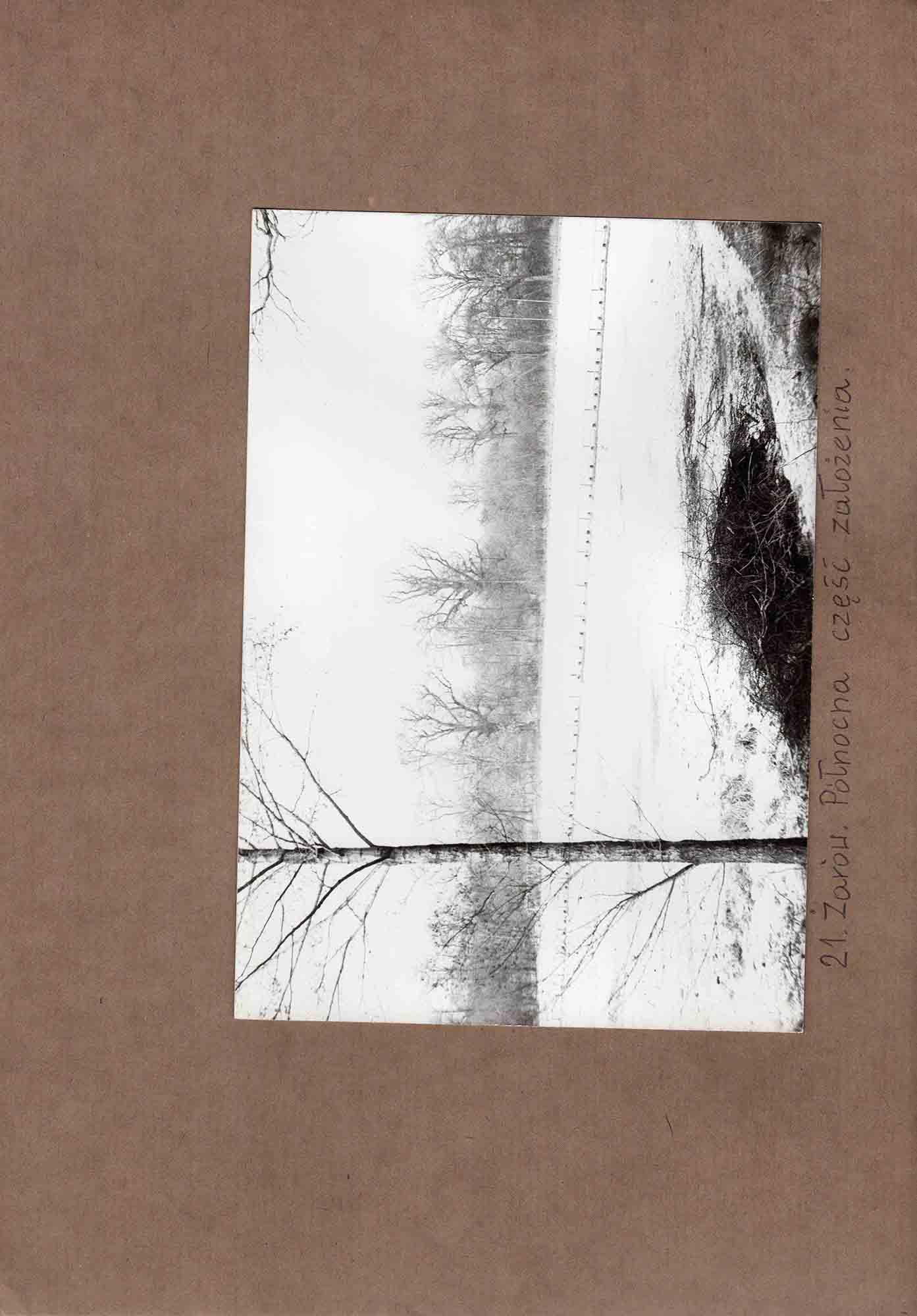 Ewidencja założenia ogrodowo-parkowego 1987 dokument (35)
